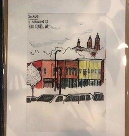 Sneaky Artist (Nishant Jain) Sneaky Art - E Madison St. Print 8x10