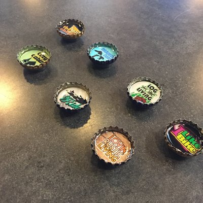Kate Grenier Bottle Cap Magnet (Assorted)