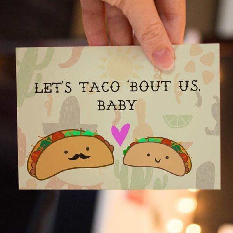 Lydia Tradewell Taco Greeting Card