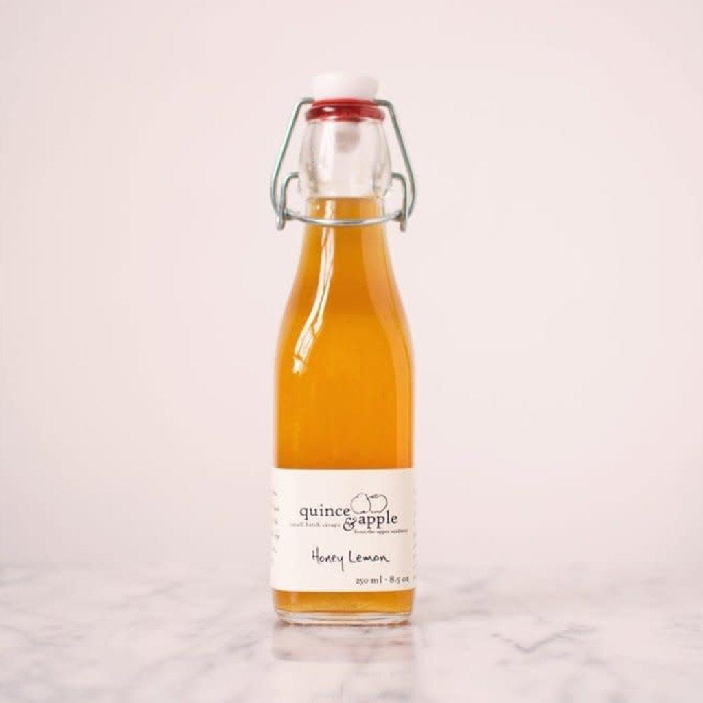 Quince & Apple Syrup - Honey Lemon