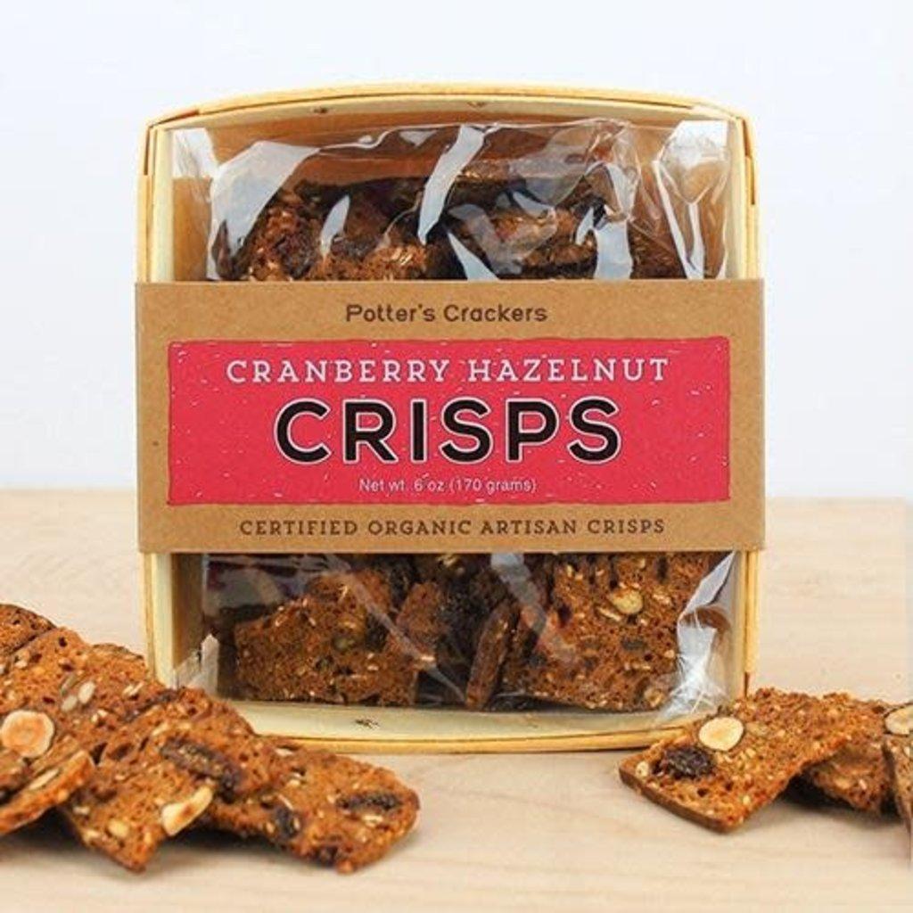 Potter's Crackers Potter's Crisps: Cranberry Hazelnut
