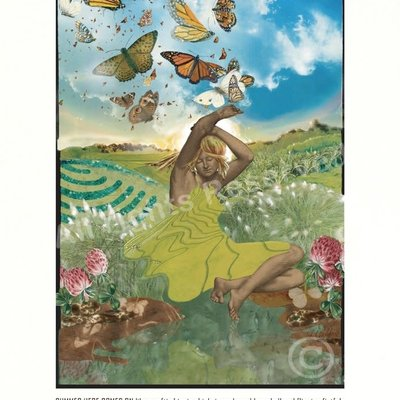 Michael Perry Summer Here Michael Perry/Lori Chilefone Print Poster