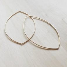 Adorn Jewelry Lemon Drop Hoops (Gold) Adorn