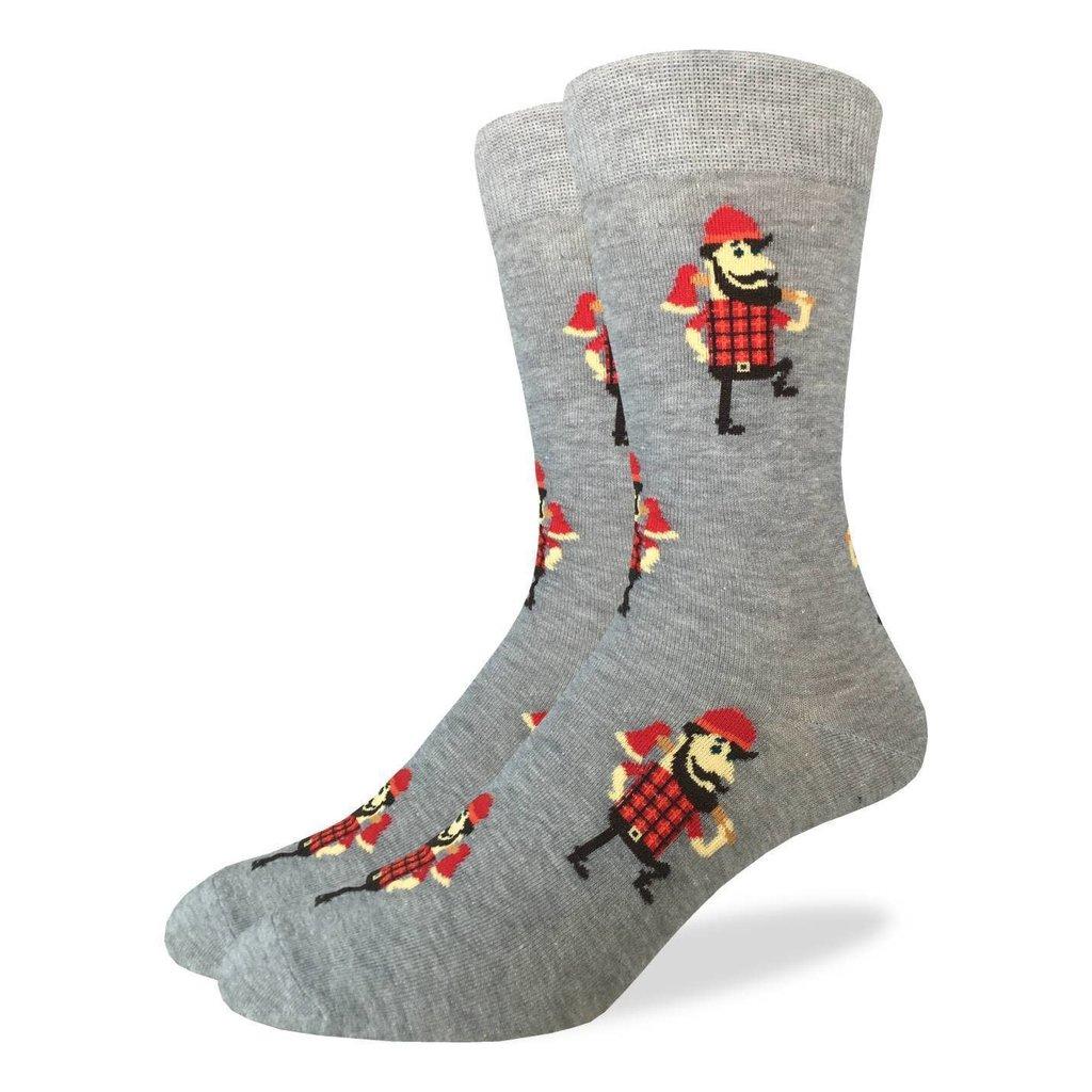 Good Luck Sock Crew Socks - Lumberjack