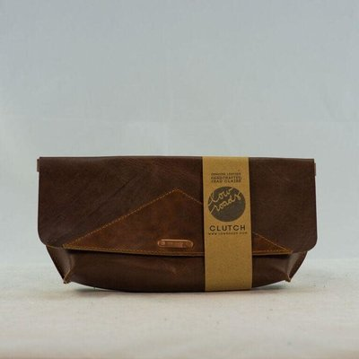 Dead Beat Leather Goods Leather Clutch