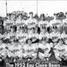 Volume One Vintage Eau Claire Baseball Print (1952 Eau Claire Bears)