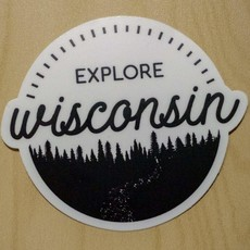Fox and Felicity Sticker - Explore Wisconsin