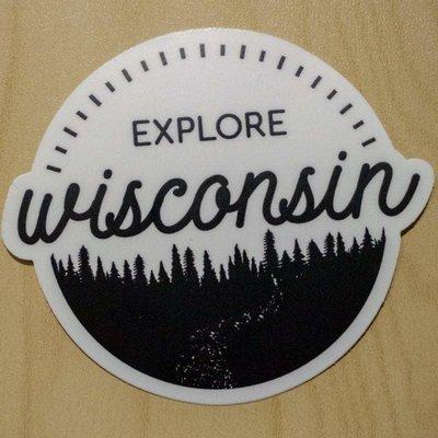 Fox and Felicity Sticker - Explore Wisconsin