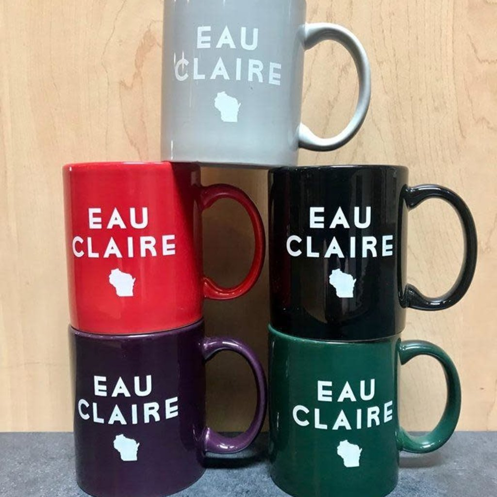Volume One Eau Claire State Mug - Black