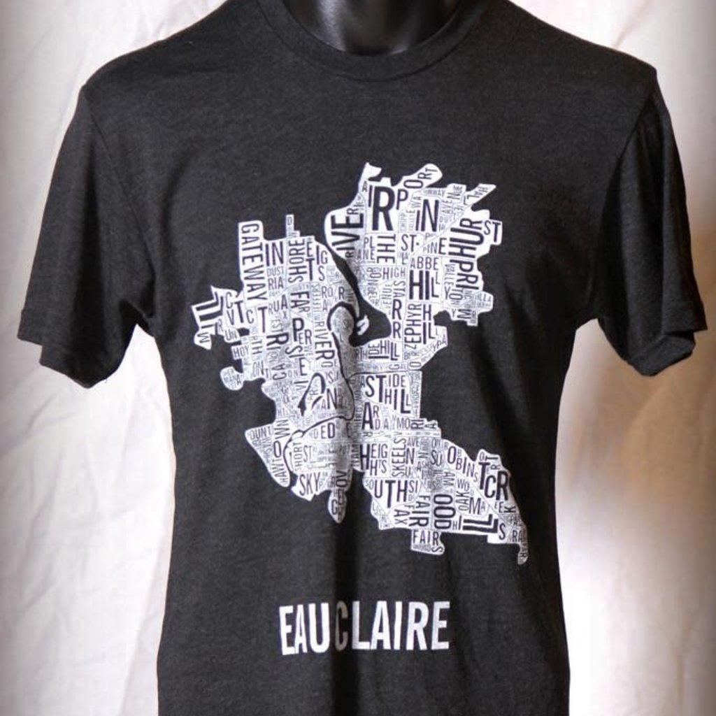Volume One Eau Claire Boundaries Tee (Vintage Black)
