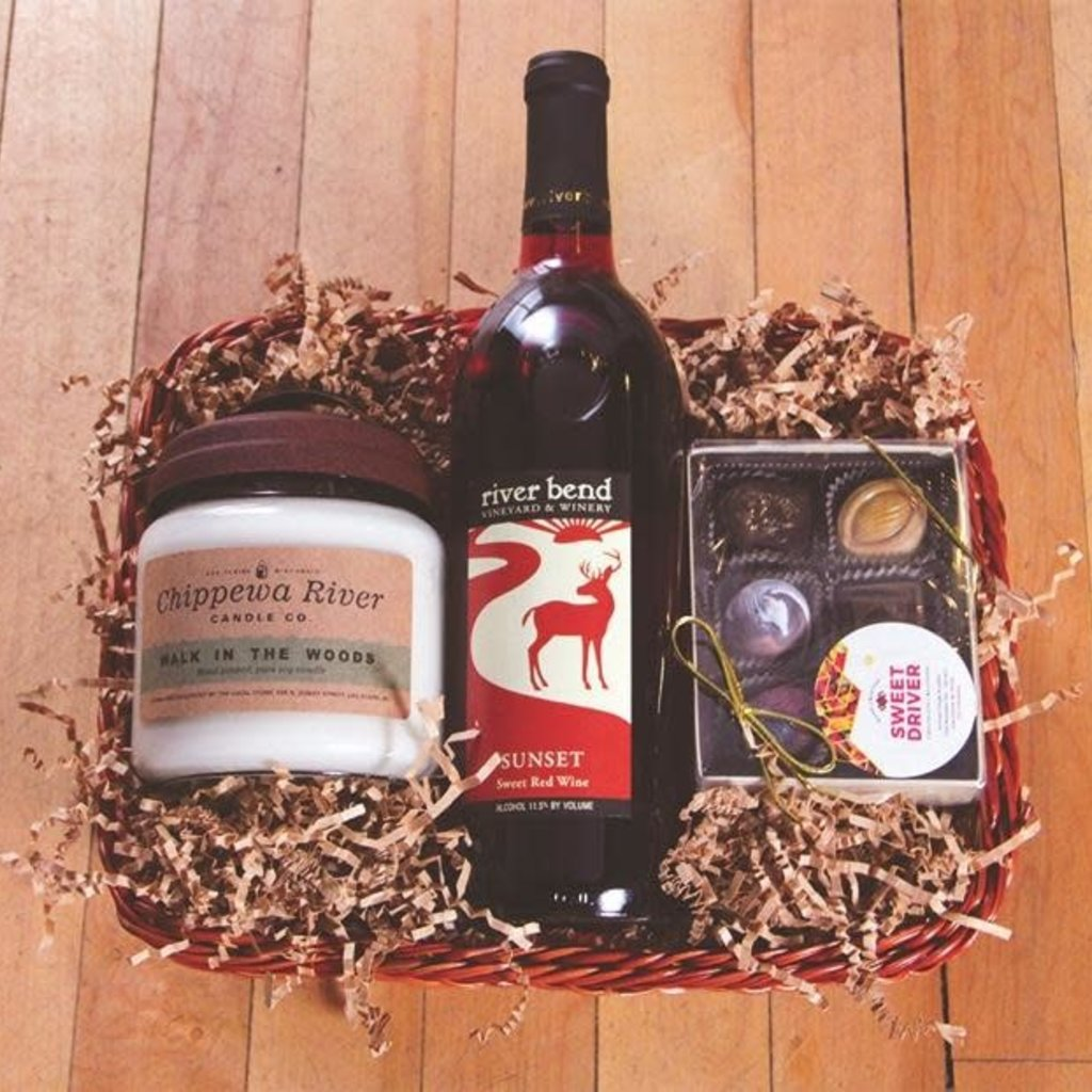 Volume One Gift Basket - Cozy Night In