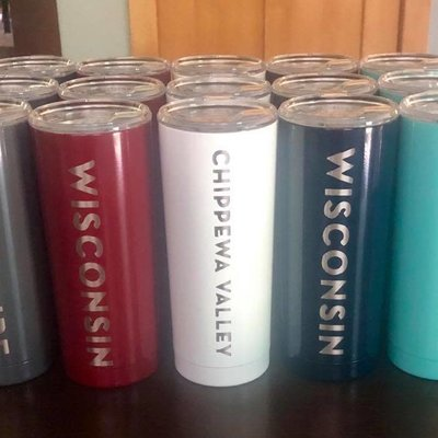Iverson Custom Coatings Eau Claire Tumbler 20 oz (Assorted Colors)