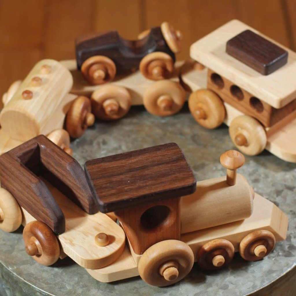 Hower Toys Hower Toys - Small Train Wooden Toy