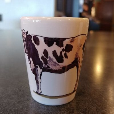 Volume One Shot Glass - Plain Cow