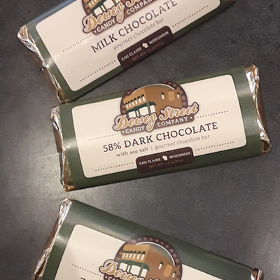 Dewey Street Candy Co. Candy Bar - Milk Chocolate