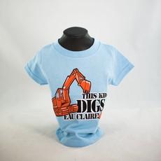 Volume One This Kid Digs EC Tee - Toddler
