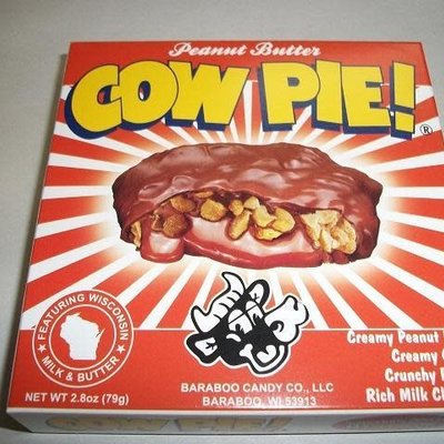 Baraboo Candy Company Chocolate Cow Pie (Peanut Butter)