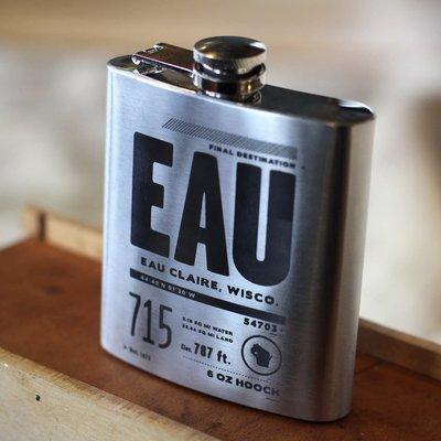Volume One EAU Flask - 6 oz.