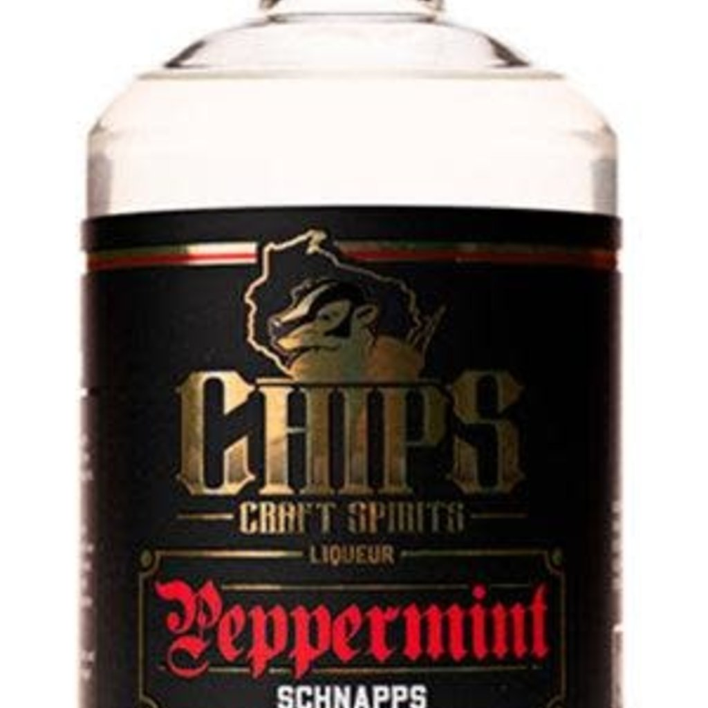 Chippewa River Distillery Chip's Peppermint Schnapps