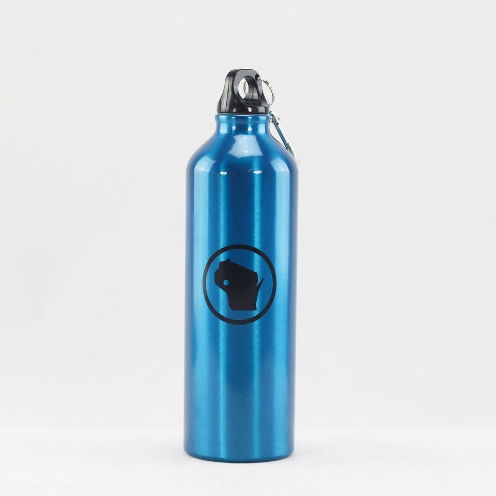 Volume One Stainless Steel Bottle - Blue WI Stamp (24 oz.)