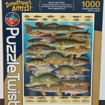 Puzzle Twist Fish Frenzy Jigsaw Puzzle