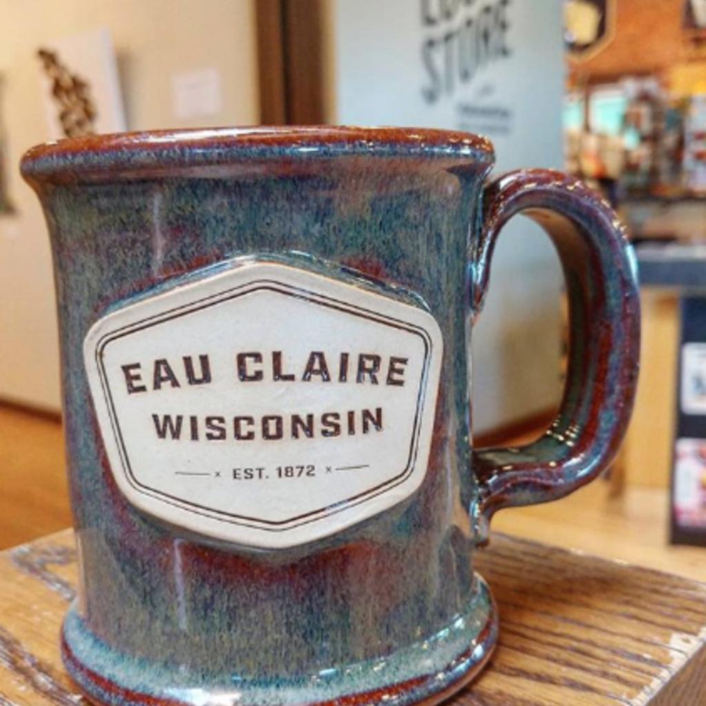 Volume One Stoneware - Eau Claire, Wisconsin Executive (Est 1872) - Moss