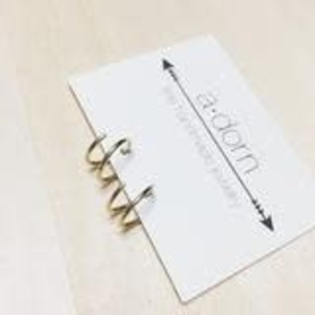 Adorn Jewelry Tiny Twist Earrings (Gold)