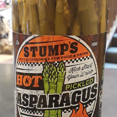 Stump's Food & Drink Hot Pickled Asparagus (16 oz.)