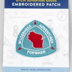 Gitchi Adventure Goods Gitchi Embroidered Wisconsin Patch