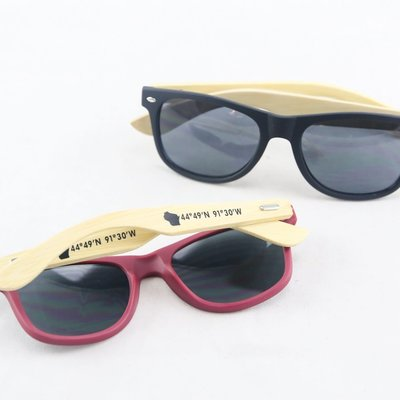 Volume One Wood Sunglasses - EC Coordinates