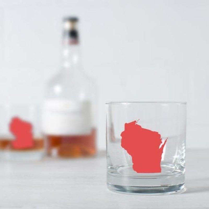 Vital Industries (WI) Rocks Glass - Wisconsin