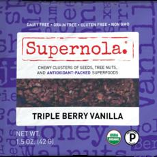 Gorilly Goods Organic Snacks Snack Mix - Supernola Triple Berry Vanilla