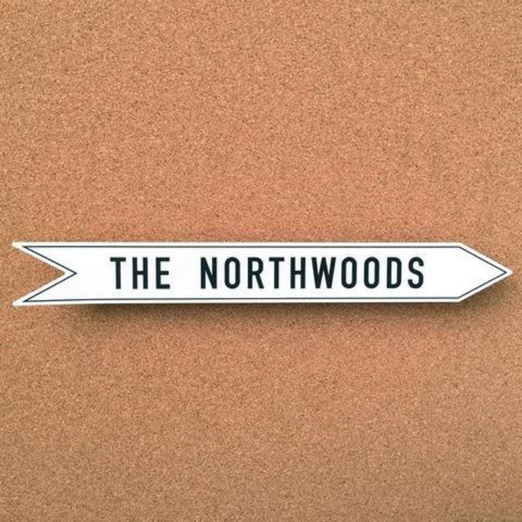 Links' Camp Sticker - The Northwoods