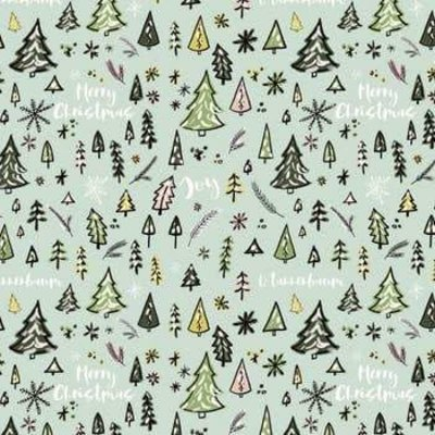 Volume One Wrapping Paper - O'Christmas Tree