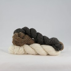 Wool n' Feather Farm Shetland Natural Yarn Skein