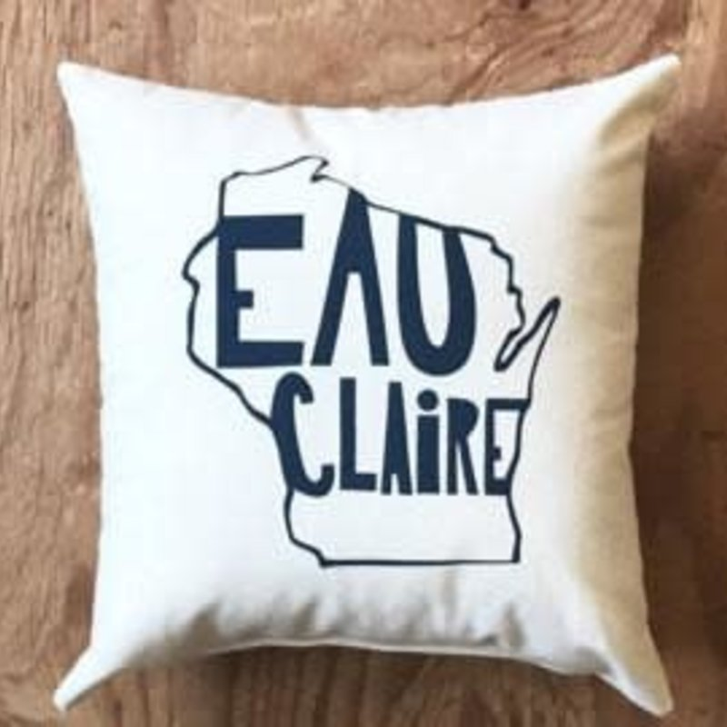 Proud Dweller Eau Claire State Pillow - Green