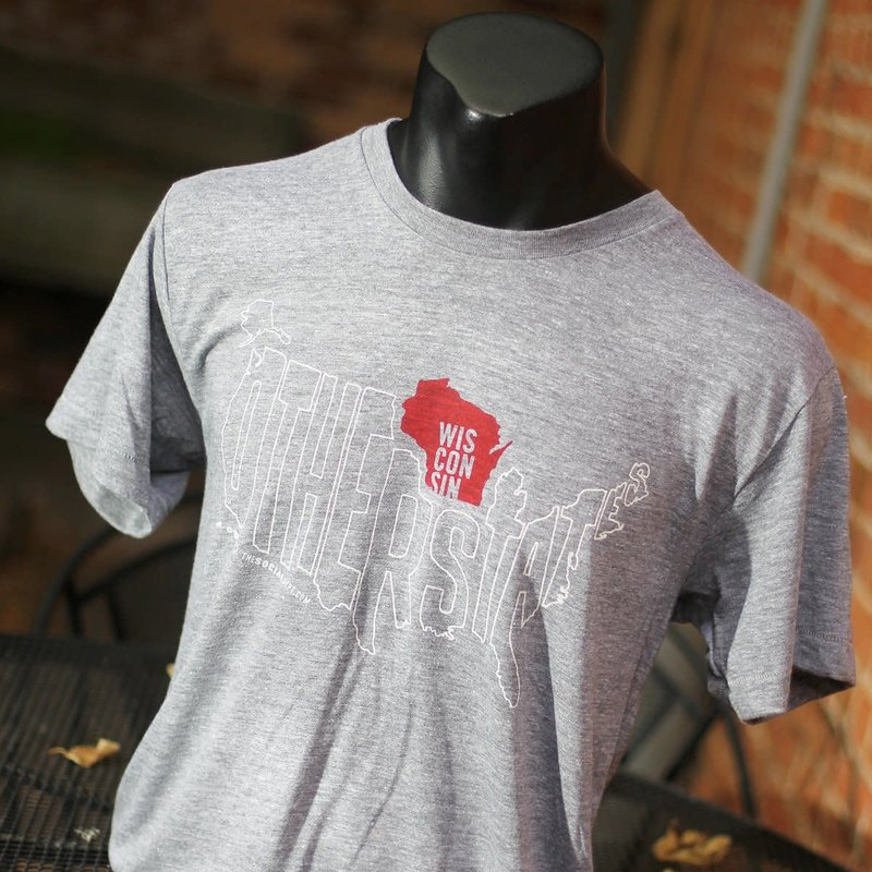 The Social Department Wisconsin & The Other States Tee