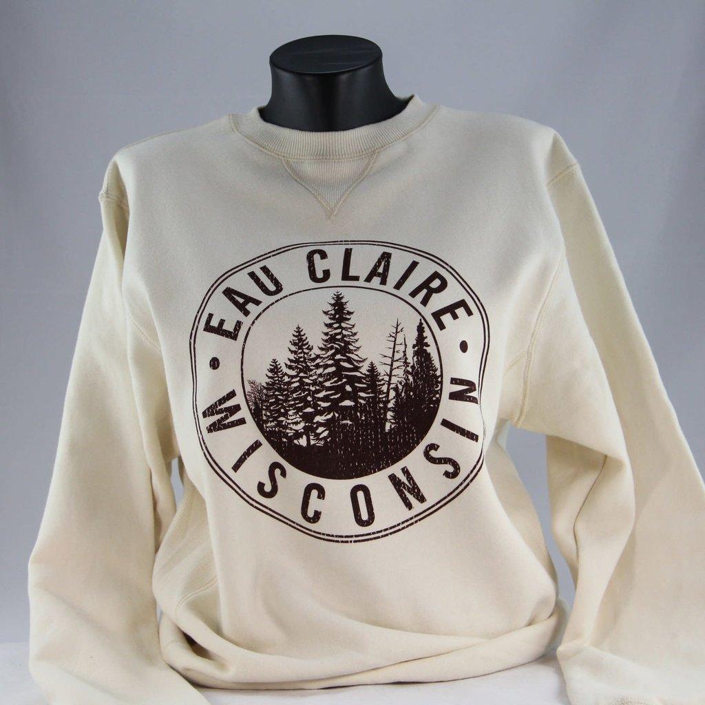 Volume One Eau Claire Pines Fleece Crewneck