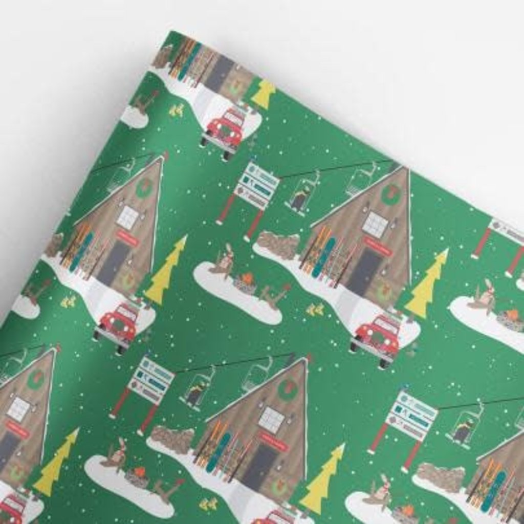 Volume One Wrapping Paper - Christmas Lodge