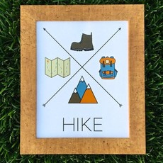 Gitchi Adventure Goods Gitchi Hike Mini Print