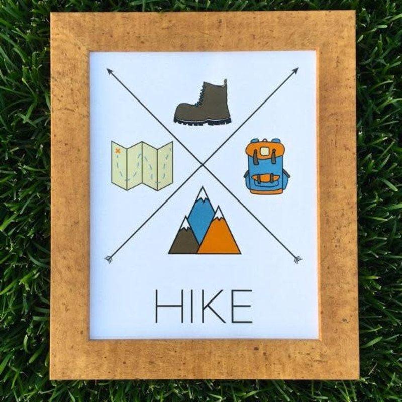 Gitchi Adventure Goods Gitchi Hike Mini Print