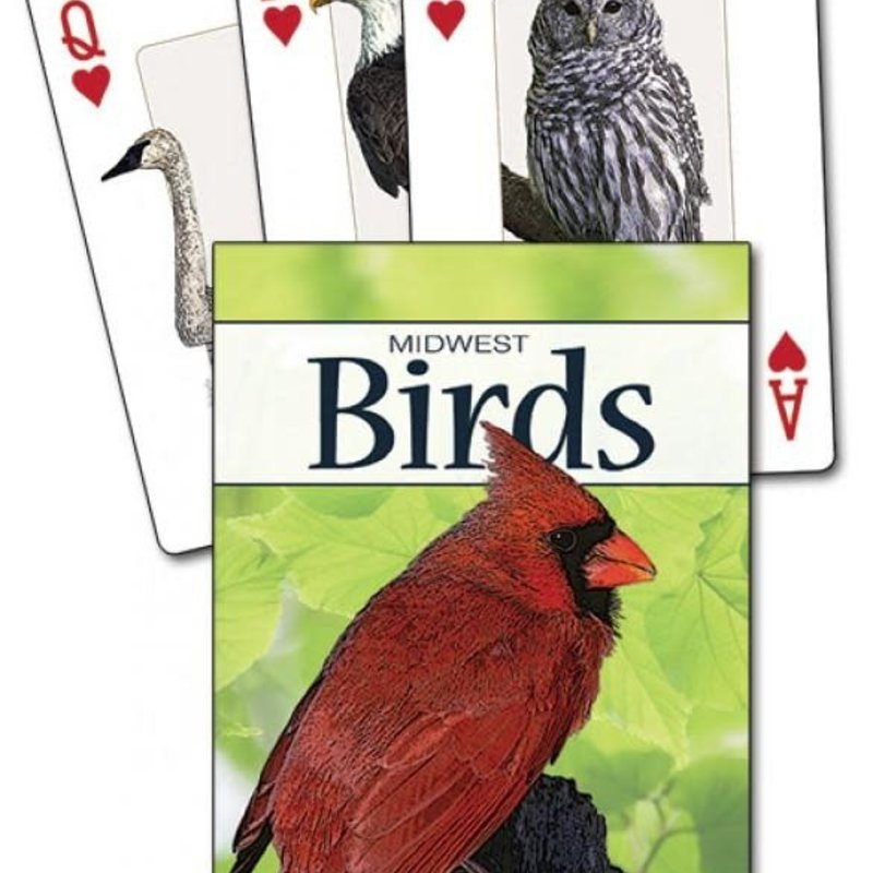 Stan Tekiela Playing Cards - Birds of the Midwest