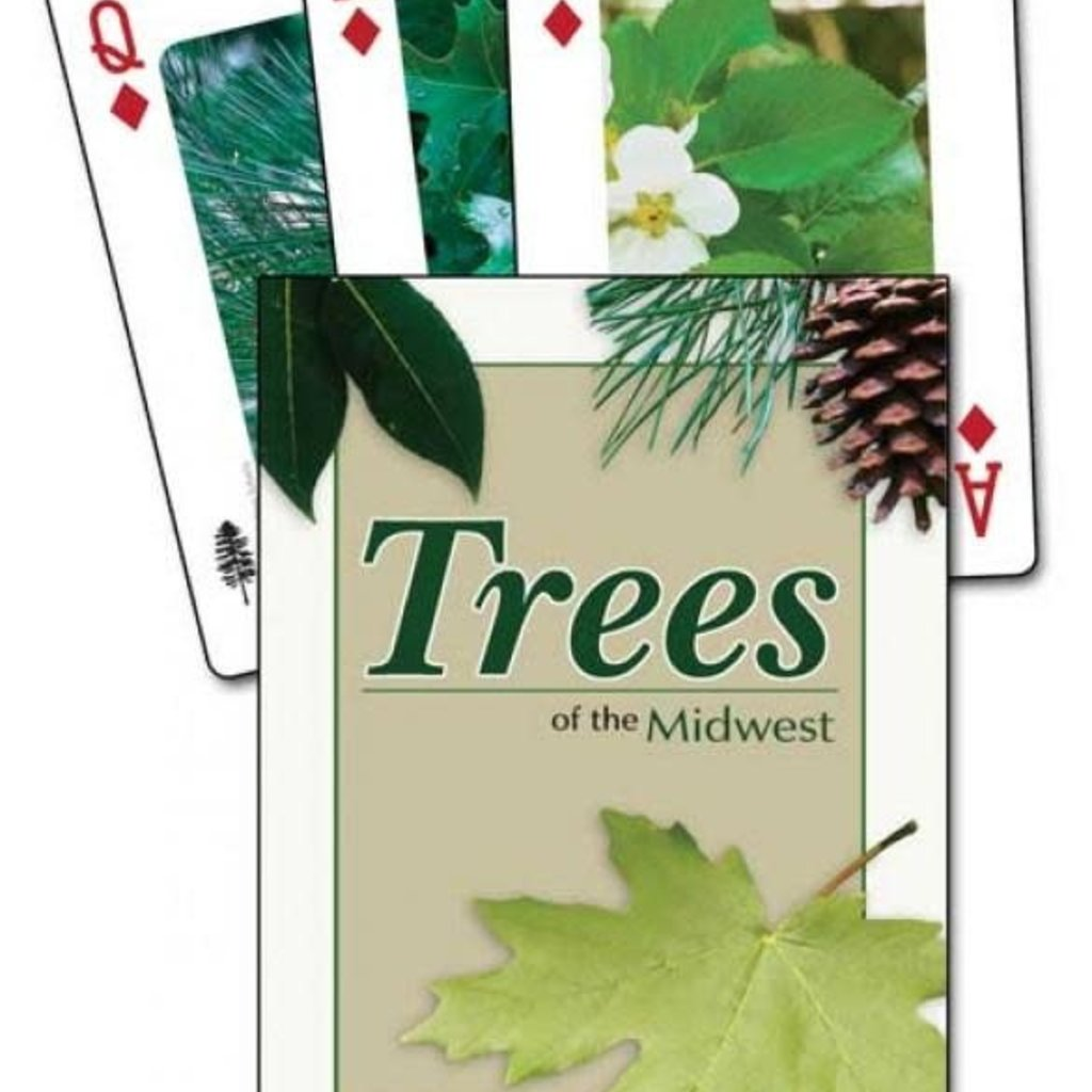 Stan Tekiela Playing Cards - Trees of the Midwest