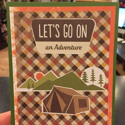 Cari Raynae Adventure Greeting Card