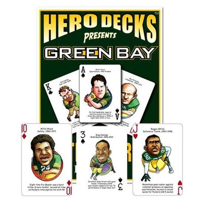 Volume One Playing Cards - Green Bay Football Heroes