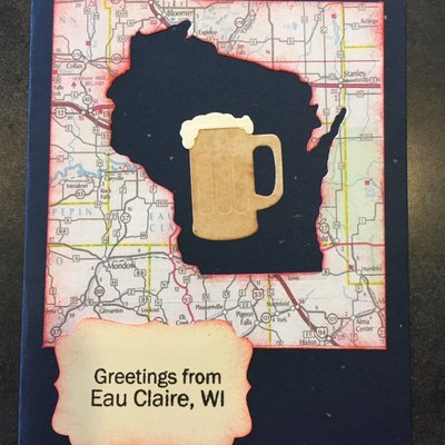 Cari Raynae Beer Greeting Card