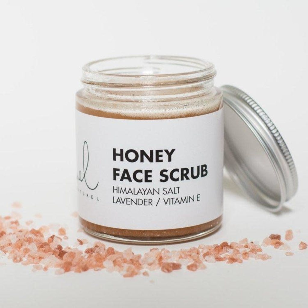 Melnaturel Honey Face Scrub
