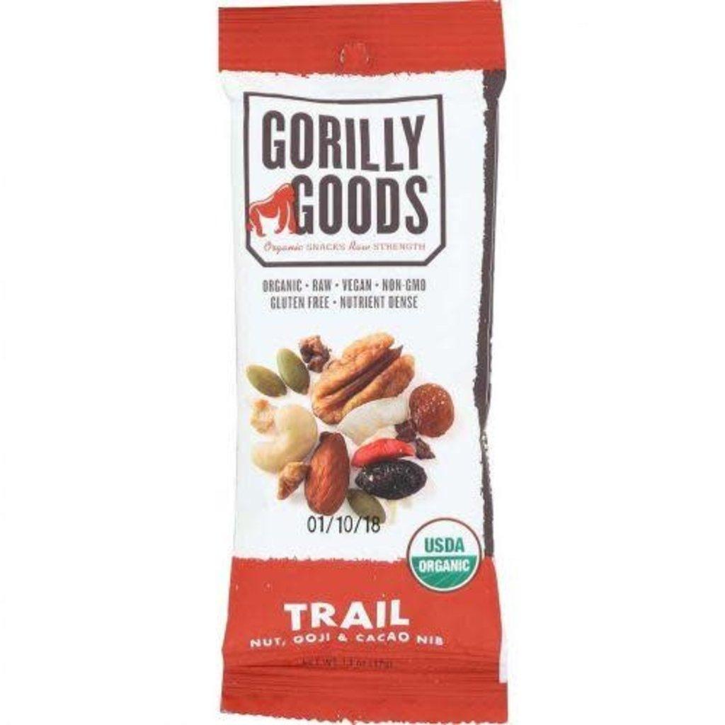 Gorilly Goods Organic Snacks Snack Mix - Trail (Nut & Goji & Cacao)