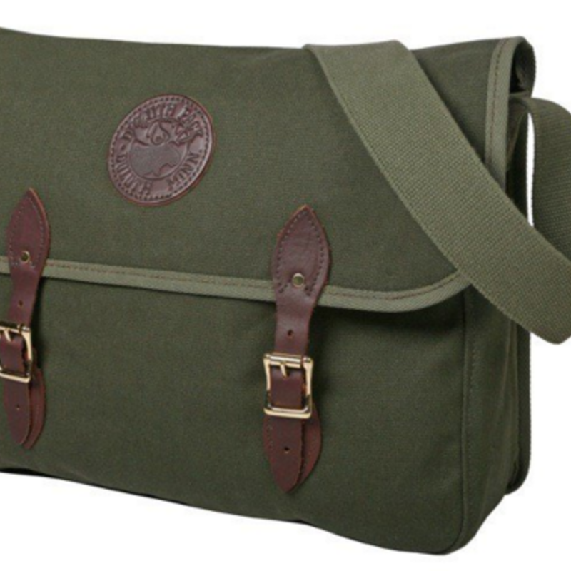 Duluth Pack Book Bag-Olive Drab