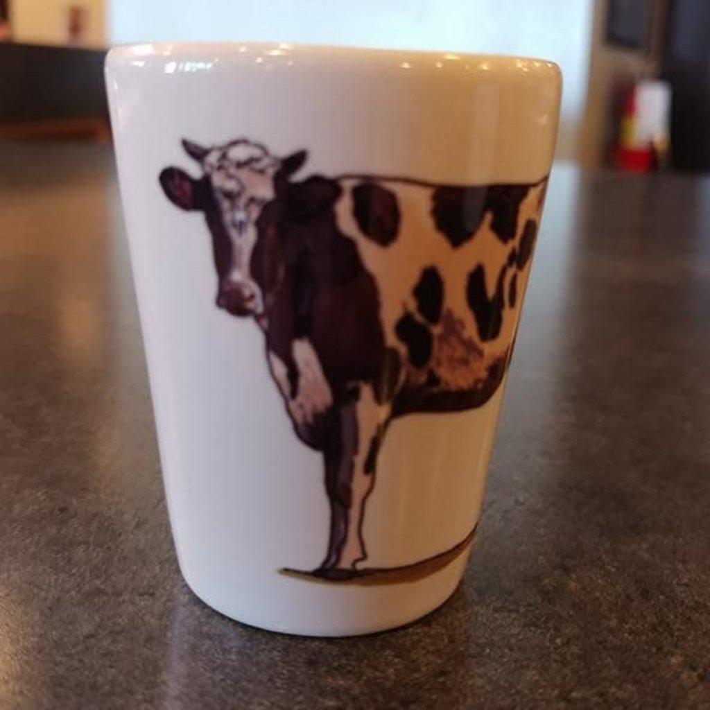 Volume One Shot Glass - Plain Cow